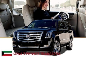 Kuwait Luxury SUV Arrival and departure Airport Transfer to Kuwait City