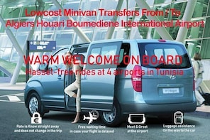 Algiers International Airport Private Arrival or Departure Transfer to Algi...