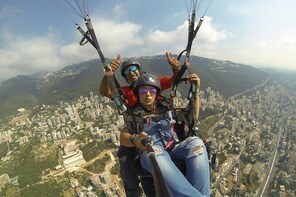 Paragliding Trip Over Jounieh Bay