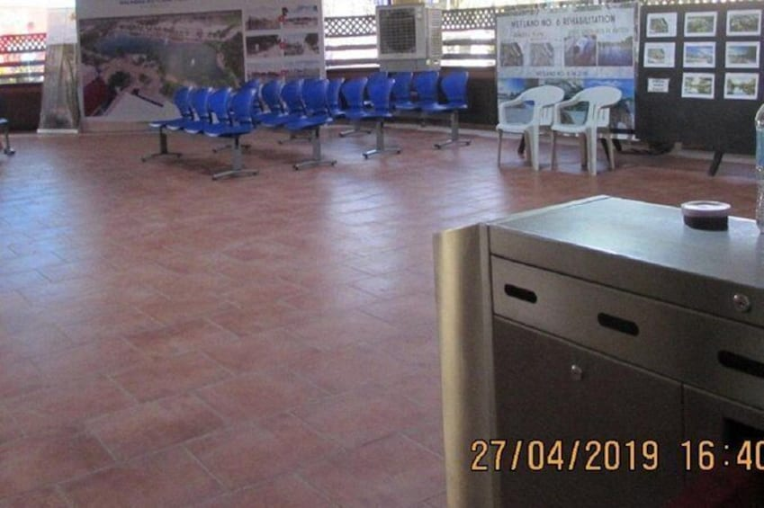 Show item 3 of 30. Cagban Jettyport Waiting Area