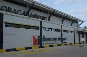 Boracay Island to Caticlan Airport Transfer with Private Van to Caticlan Ai...