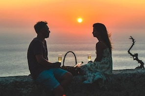 Wine Tasting and Romantic sunset in Monolithos