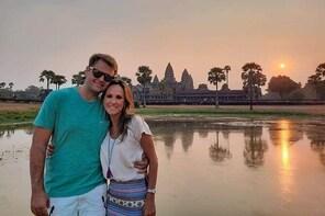 1 Day - Angkor Wat, Bayon,Angkor Thom, Ta Promh, Preah Khan