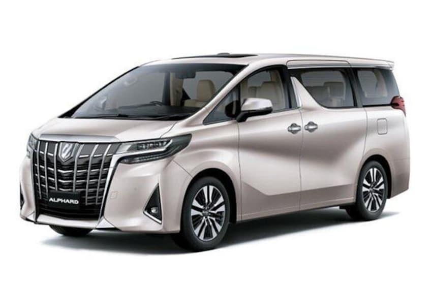 Show item 3 of 6. Premium minivan Alphard or similar model