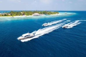 Maafushi: Airport Transfer By Speedboat
