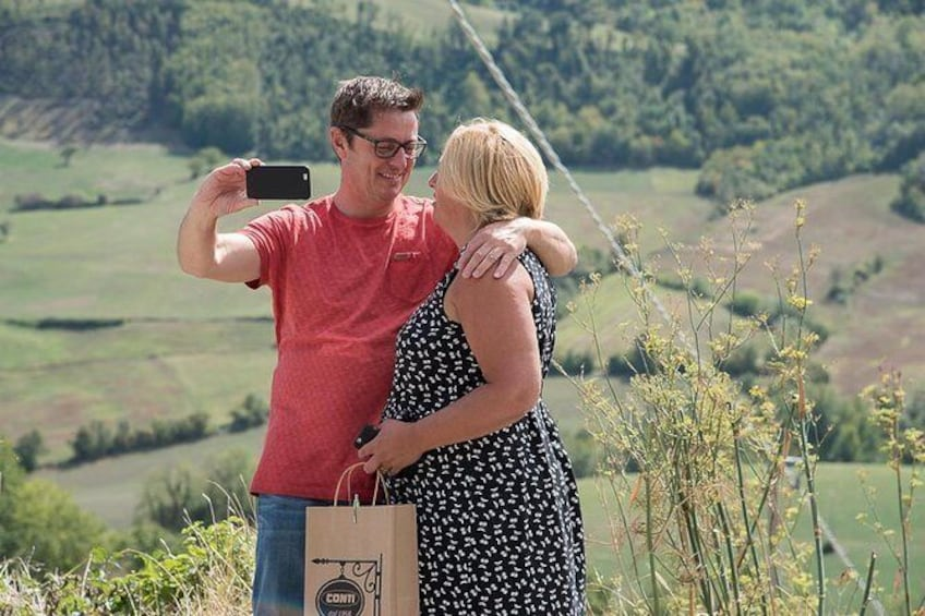 Show item 5 of 7. Parma hills selfie