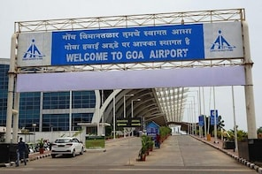 Goa International Airport to hotel drop
