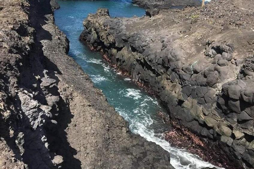 Show item 4 of 5. Viagem para o vulcão visitar plantação de café  conher um pouco das praia de mar