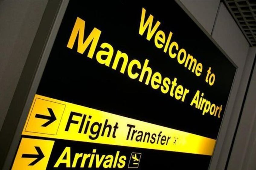 Show item 1 of 2. Airport Transfer Manchester Airport to Liverpool