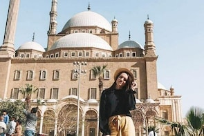 Cairo Layover Tour to Pyramids, the Egyptian Museum and Khan Khalili Bazaar