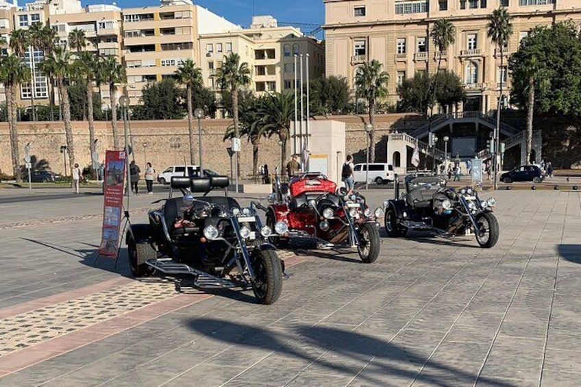"Show item 1 of 11. Luxury Rewaco Trike ""The Mar Menor Vistas Tour"" - (2 hours, Min of 2 passengers)"