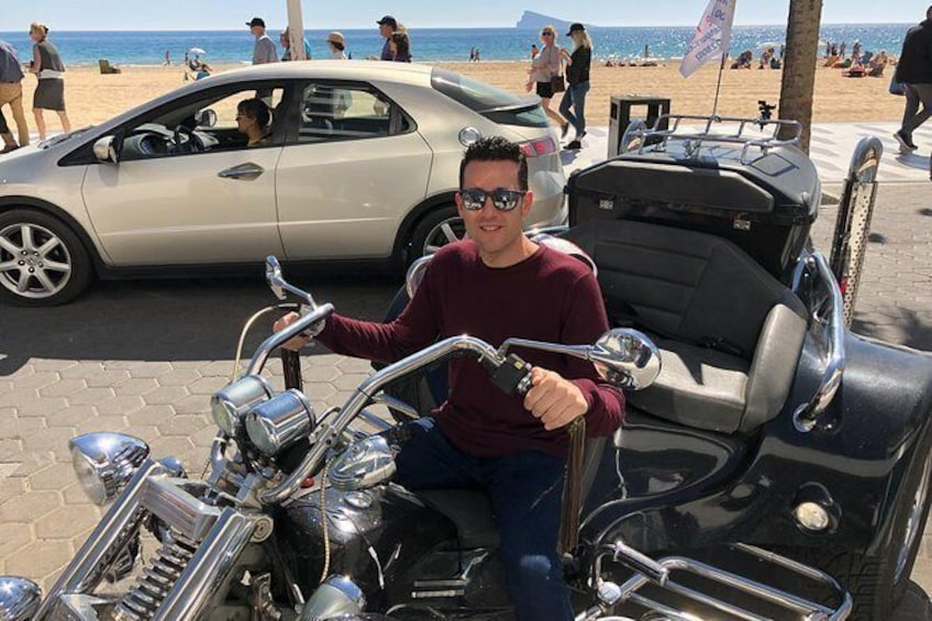 "Show item 4 of 11. Luxury Rewaco Trike ""The Mar Menor Vistas Tour"" - (2 hours, Min of 2 passengers)"
