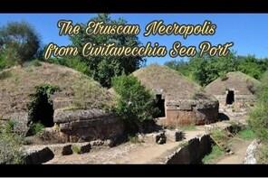Cerveteri Etruscan Necropolis from Civitavecchia Sea Port Private Tour