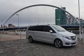 Glasgow Airport to Edinburgh Airport EDI - Private Transfer MV