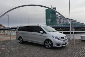 Glasgow Airport to Glasgow City Hotels - Private Transfer MV