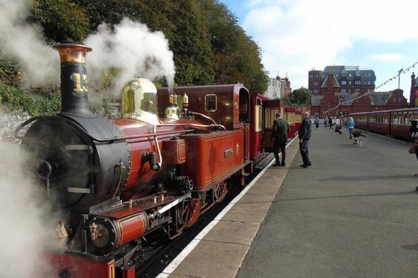 Steam Trains and Castles with qualified and experienced driver guide