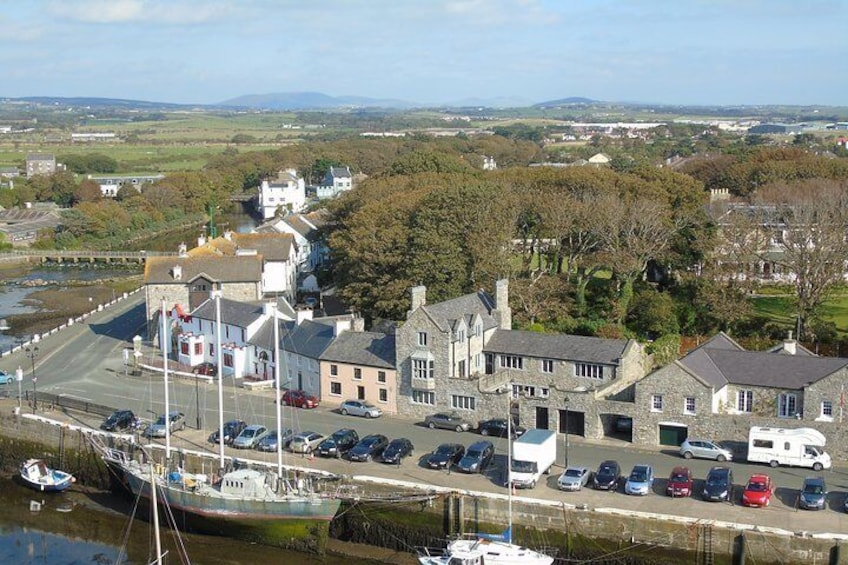 Castletown from the top of the castle