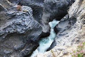 Private 6-Hour Alcantara Gorges Small-Group Tour from Catania