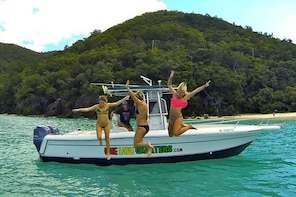 Customize Your Own Adventure - US & British Virgin Islands Private Boat Cha...