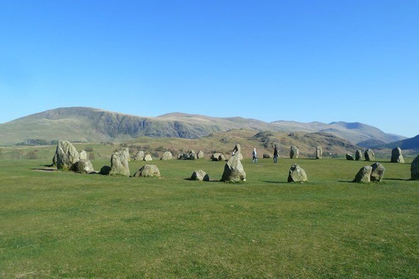 Show item 2 of 8. Castle Rigg Stone Circle