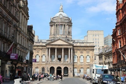 Liverpool Town Hall where the Beatles came out on the Balcony