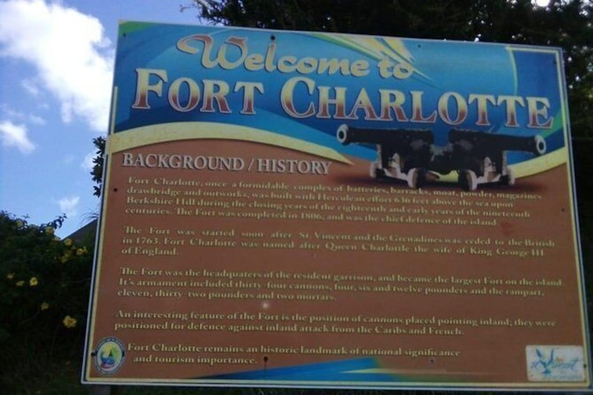 Show item 1 of 7. Fort Charlotte, Botanical Gardens and Kingstown Tours with Detention Tours)