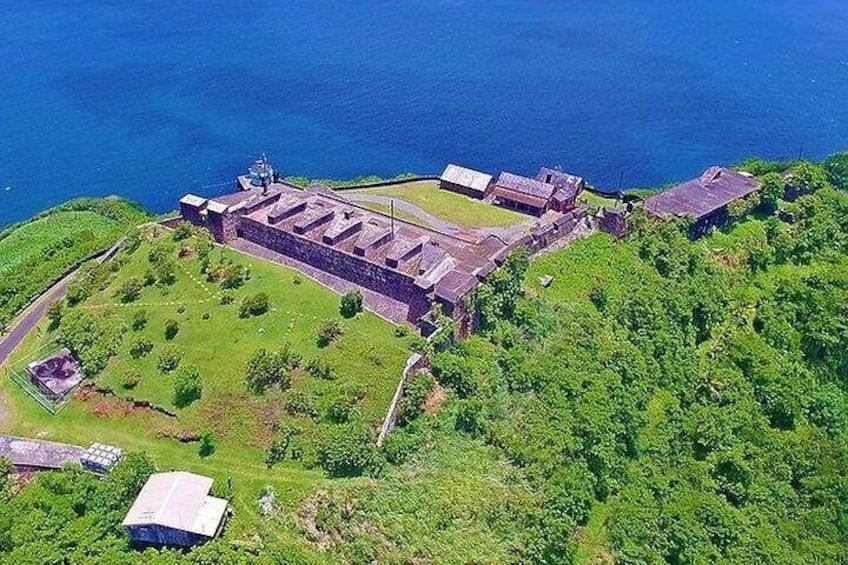 Fort Charlotte, Botanical Gardens and Kingstown Tours with Detention Tours