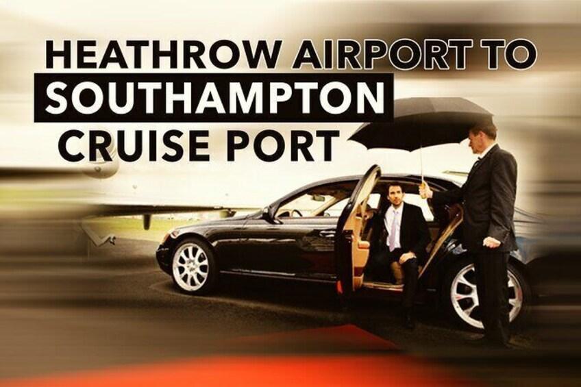 Show item 1 of 7. Heathrow To Southampton Cruise Port Transfers