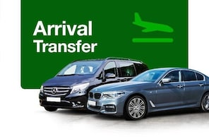 Private Arrival Transfer Cordoba International Airport to Cordoba City