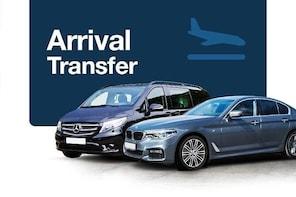 Private Arrival Transfer: Frankfurt Airport to Offenbach, Eschborn, Neu-Ise...