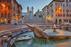 Private Rome tour with pick-up from Naples