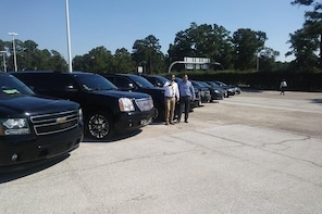 Professional Black Car service from IAH Airport to Houston downtown