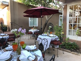 Gourmet brunch in charming Santa Fe with chef Carolina