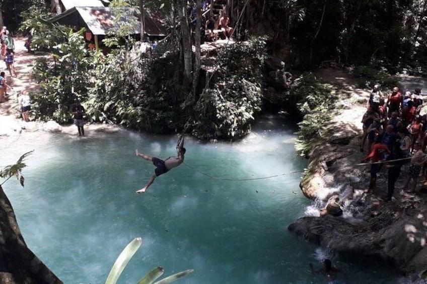 Show item 1 of 8. Ocho Rios River Tour - Blue Hole, Dunn's River & Tubing