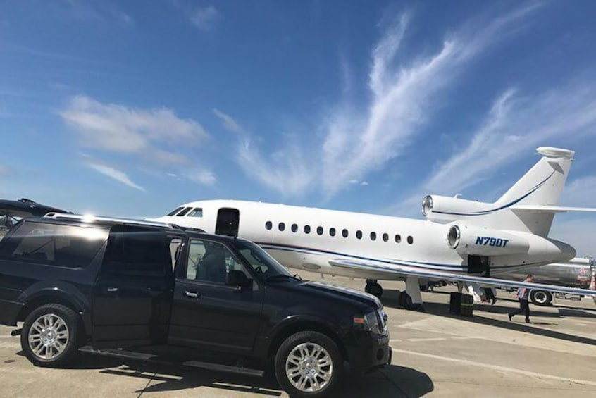 Show item 1 of 3. Private Transfer: Silicon Valley to San Francisco International Airport