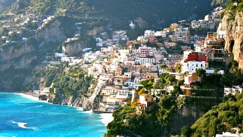Daytime image of the Amalfi Coast in Italy
