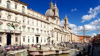 Escursione privata a terra: tour del Vaticano, del Colosseo e di Roma