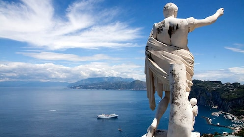 Statue of Augustus in Italy