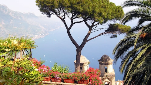 Scenic view of the coast in Italy