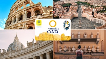 Vatican & Rome Pass con tour in autobus hop-on hop-off