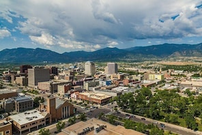 Scenic Bike Tour Of Colorado Springs
