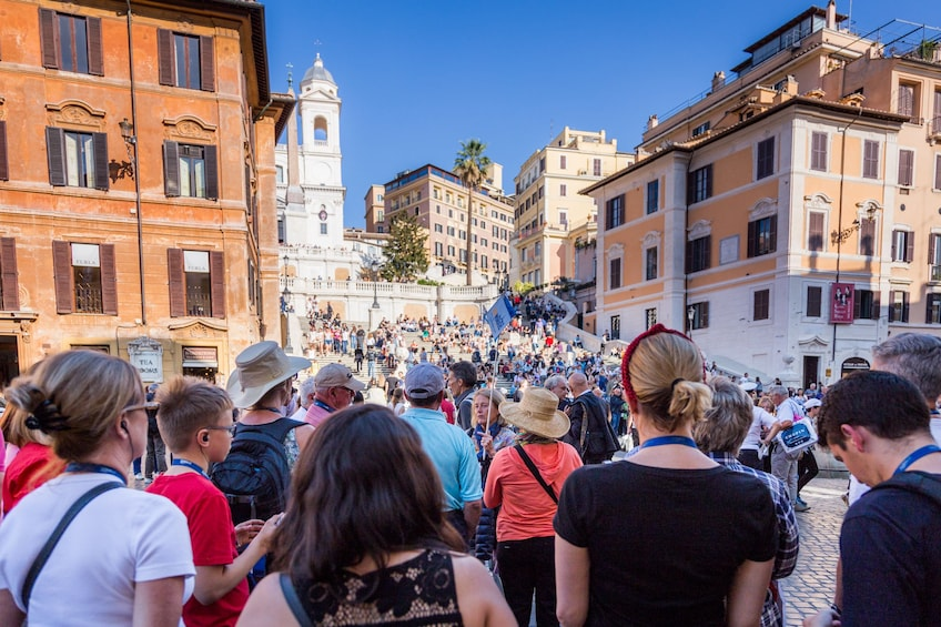 Show item 10 of 10. Best of Rome with Trevi Fountain, Spanish Steps & Pantheon