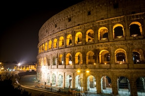 Colosseum by Night with Underground & Arena Access Tour