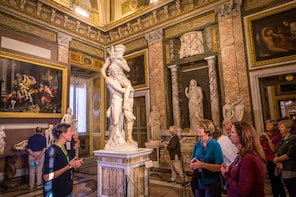 Galleria Borghese mästerverk och trädgårdar: skippa kön-tur