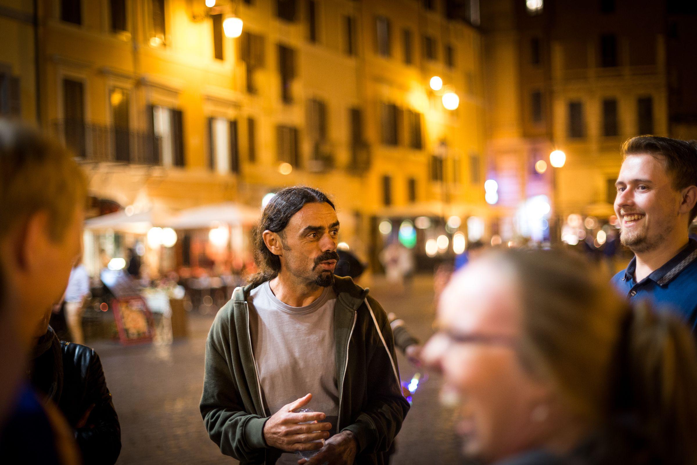 Roms hemmeligheder og mysterier om aftenen