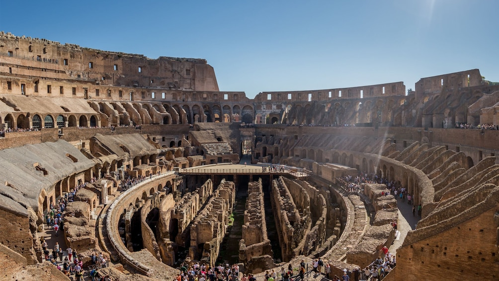 Show item 3 of 9. Day view of the Colosseum