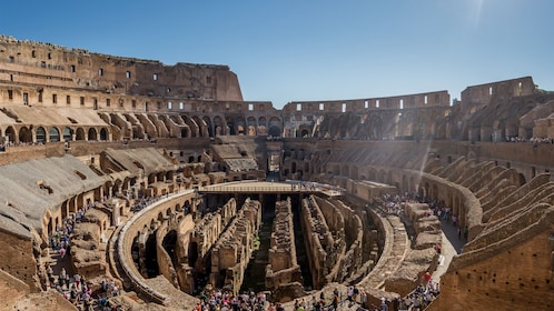Day view of the Colosseum