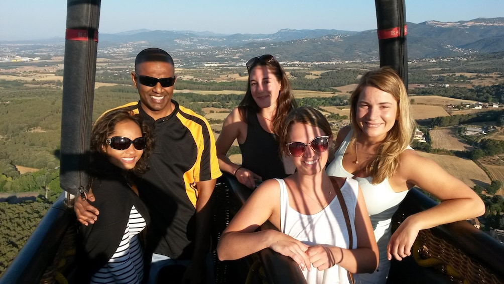 Show item 3 of 10. Hot Air Balloon Flight with optional Pick up from Barcelona