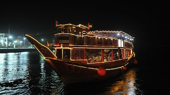 Dhow Cruise Dinner at Dubai Creek with Transport