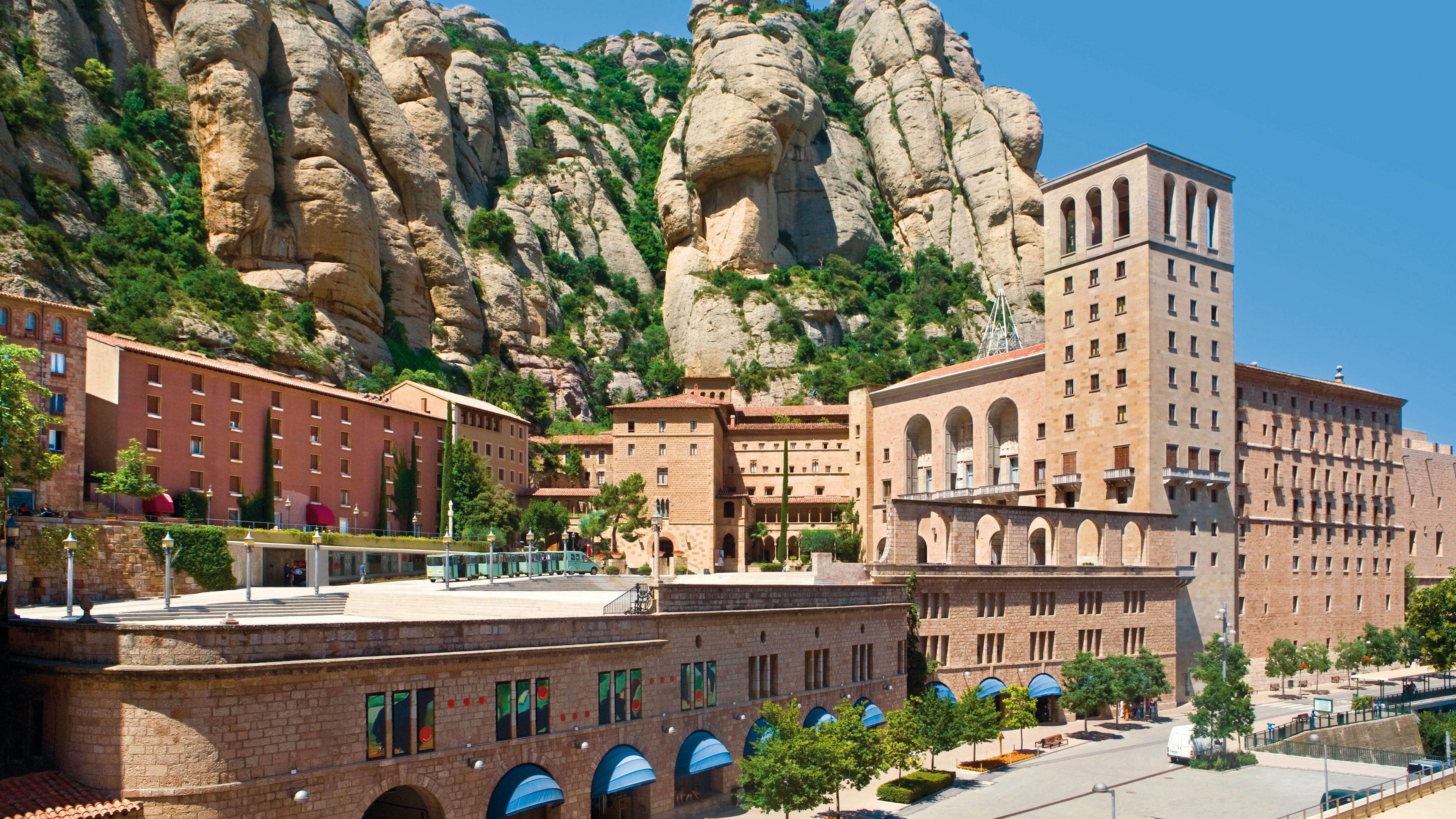 Rundtur i liten grupp till Montserrat och vingården Codorníu